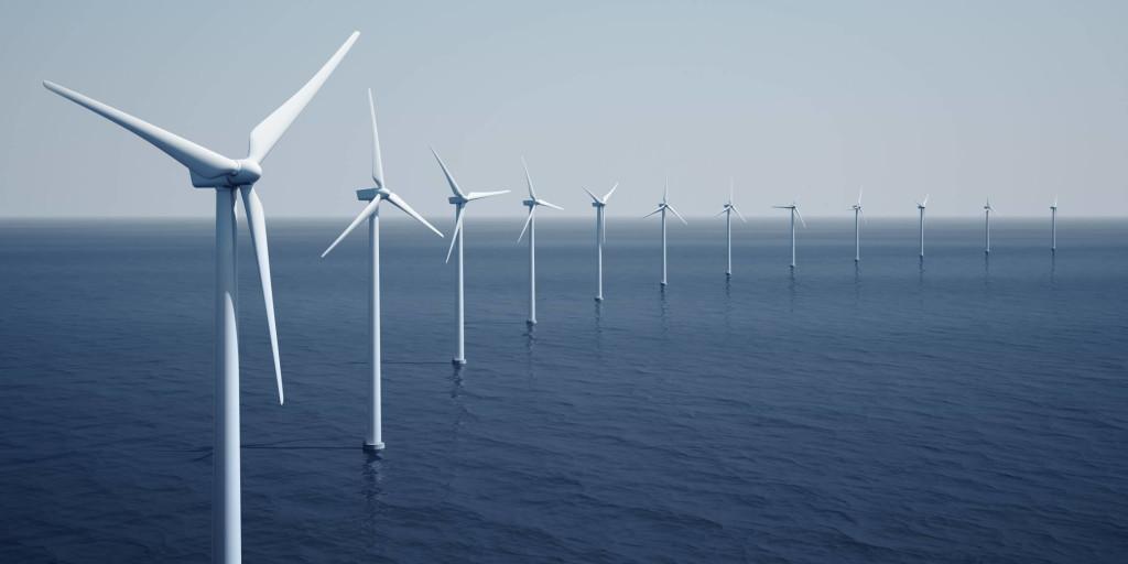 urbina eolica in mare