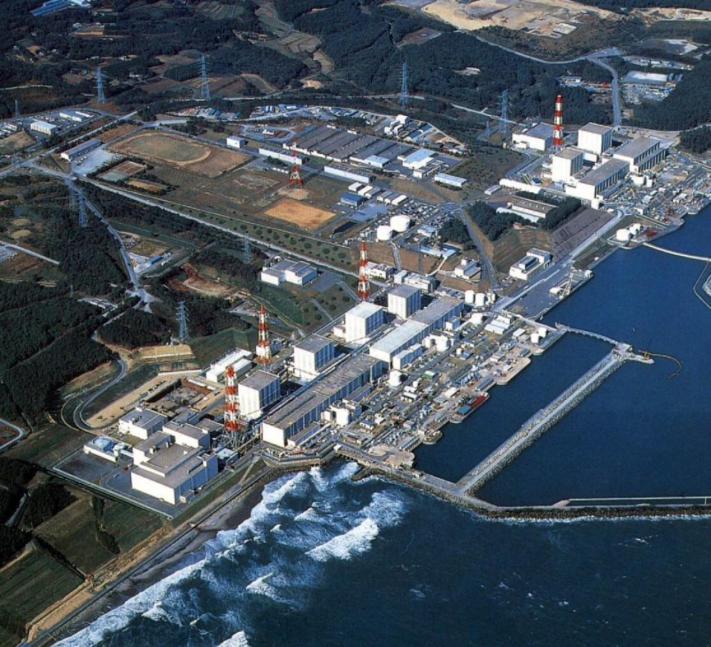 fukushima dall'alto