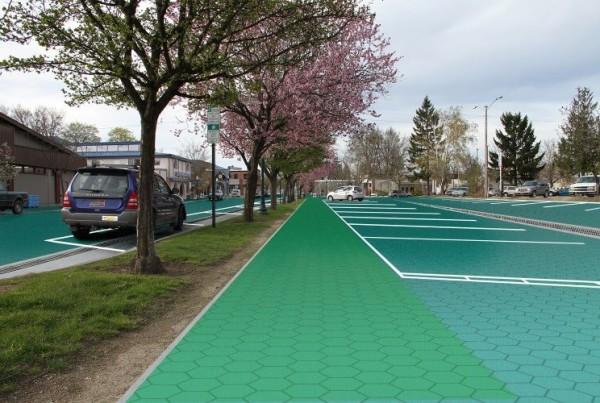 pannelli solari nelle strade