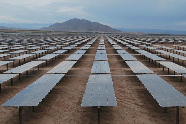 pannelli solari in cile
