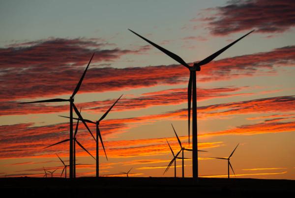 energia eolica in italia tramonto