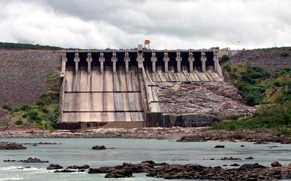 bacino di una centrale idroelettrica