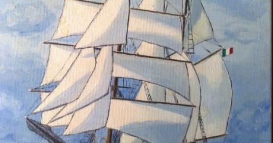 barca a vela nell'antichità
