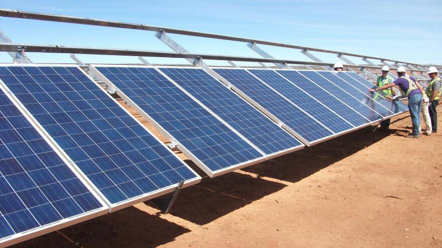 energia fotovoltaica in africa