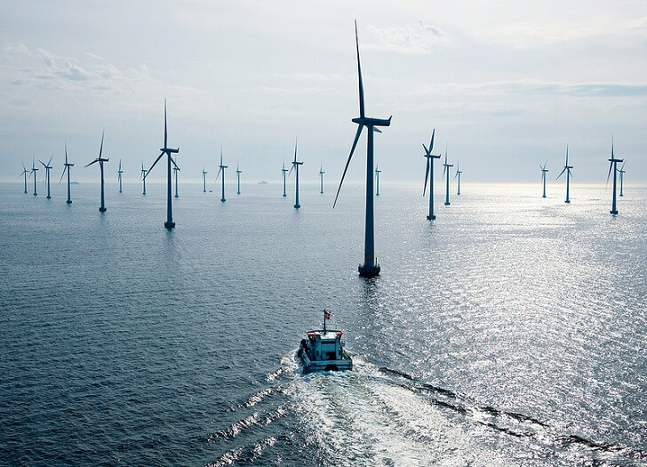 energia eolica in danimarca