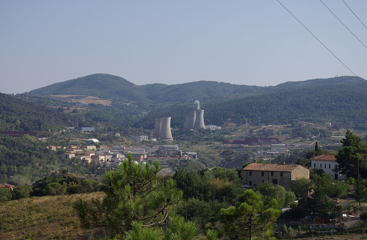 Impianto geotermico italiano
