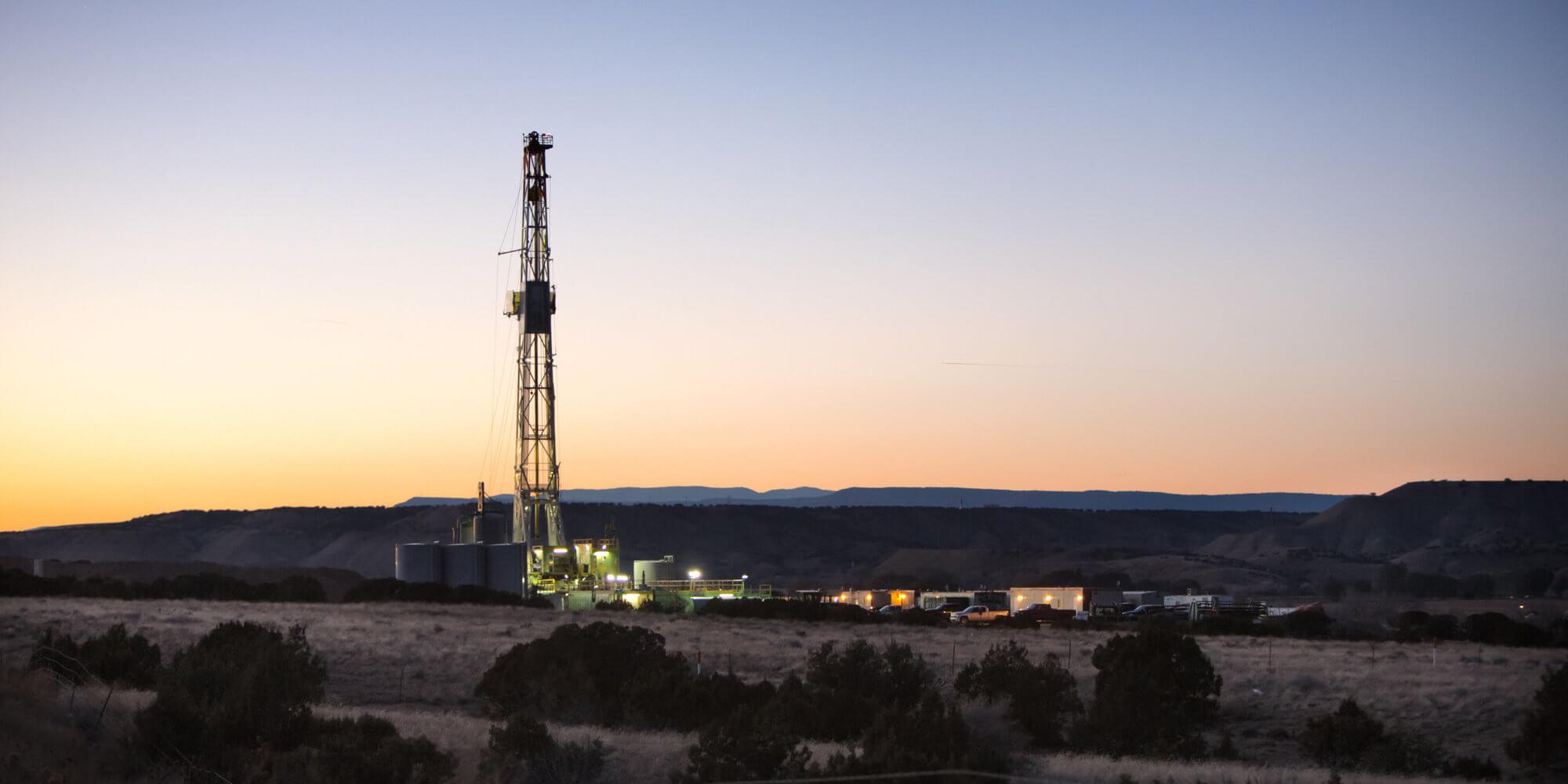 fracking petrolio
