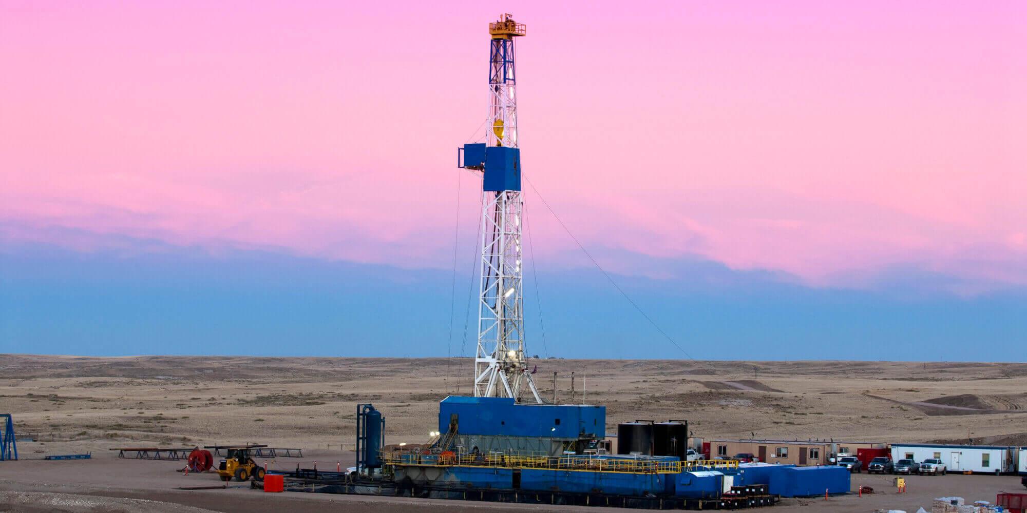 impianto di fracking