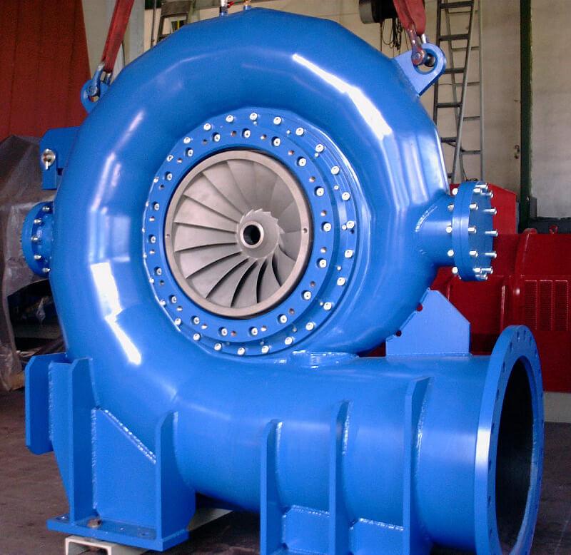 turbina idroelettrica francis
