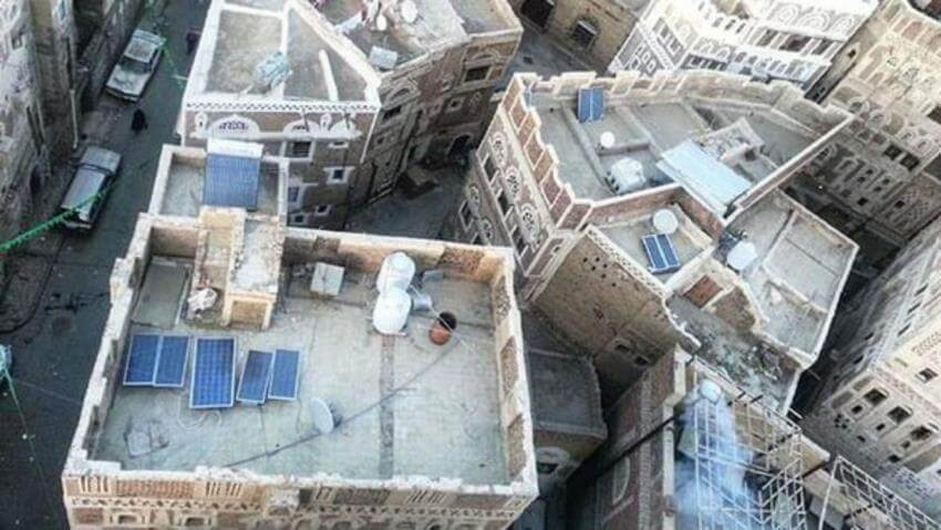 yemen pannelli solari