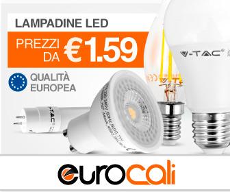banner lampadine led eurocali