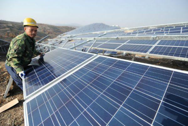 energia solare rinnovabile in cina