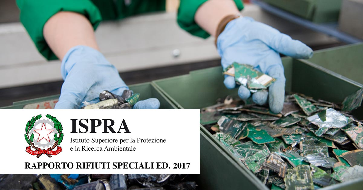 rapporto ispra rifiuti 2017
