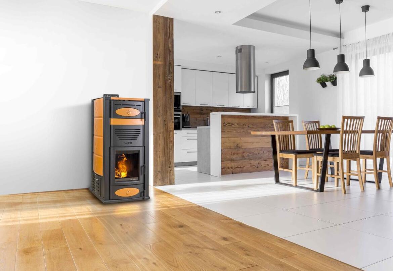 Come riscaldare casa senza termosifoni e a basso costo - Stufe a pellet a basso costo ...