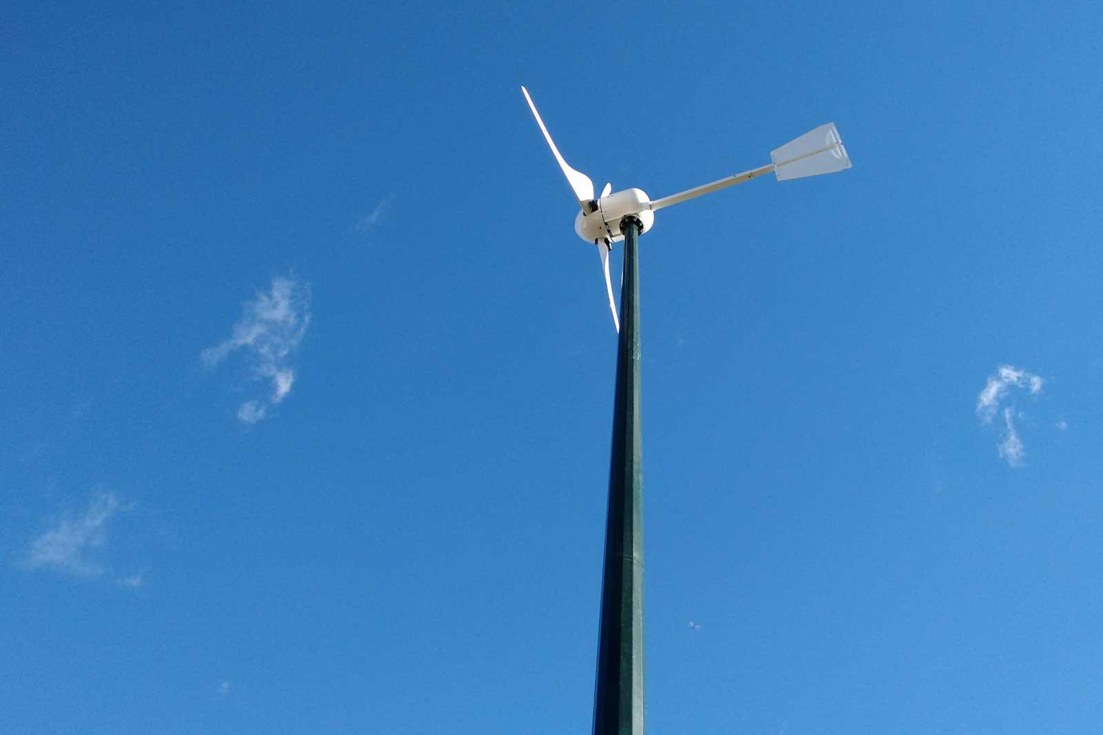 Micro-eolico: l'impianto eolico domestico.