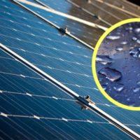 I nuovi pannelli solari ibridi che convertono la pioggia in energia elettrica