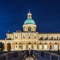 Il Santuario di Caravaggio illuminato dalla tecnologia LED