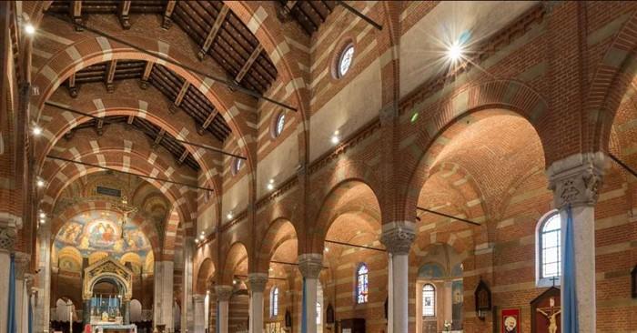 Il Santuario di Caravaggio illuminato dai LED per un risparmio del 70%