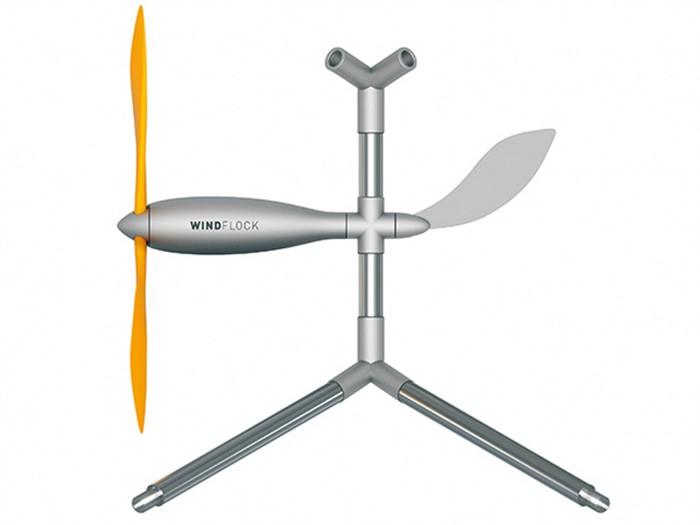 Windflock, l'impianto micro-eolico che si monta come un lego