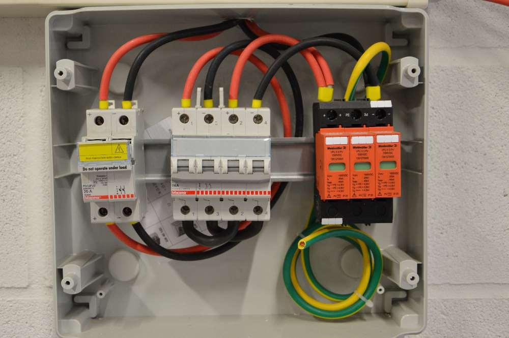 schema elettrico civile