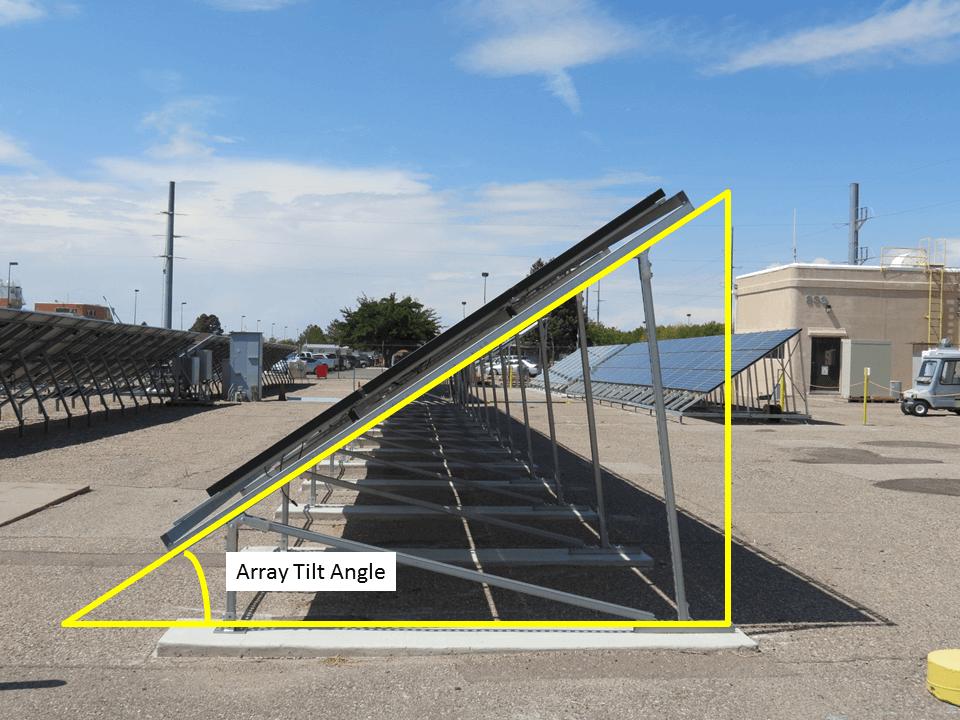 Posizionamento dei pannelli fotovoltaici