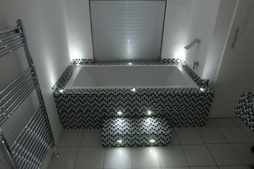 illuminazione led vasca