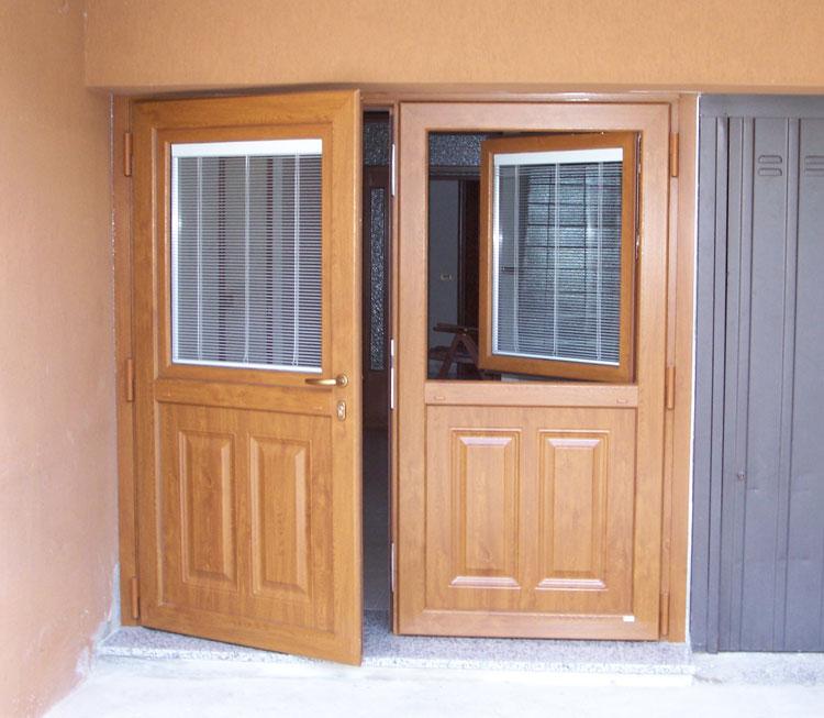 porta in legno ecologica