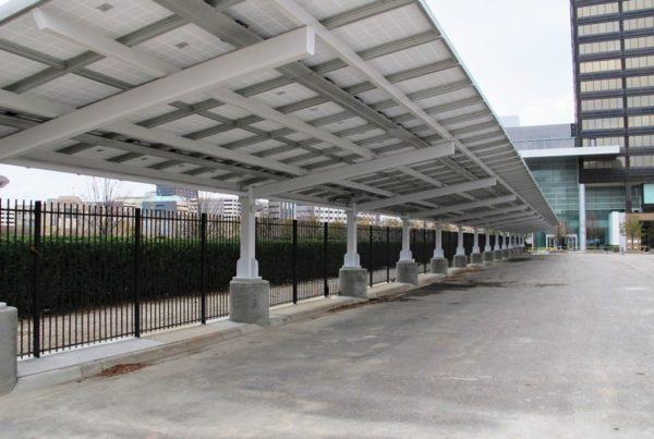 tettoia auto fotovoltaico