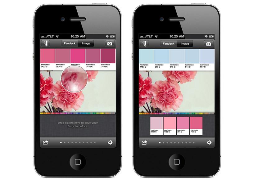 mypantone app per smartphone