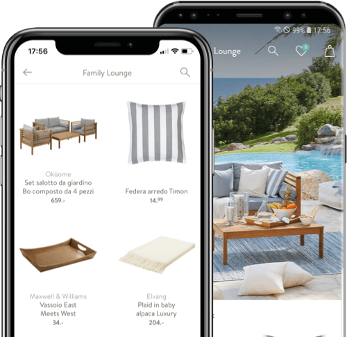 westwing app per smartphone