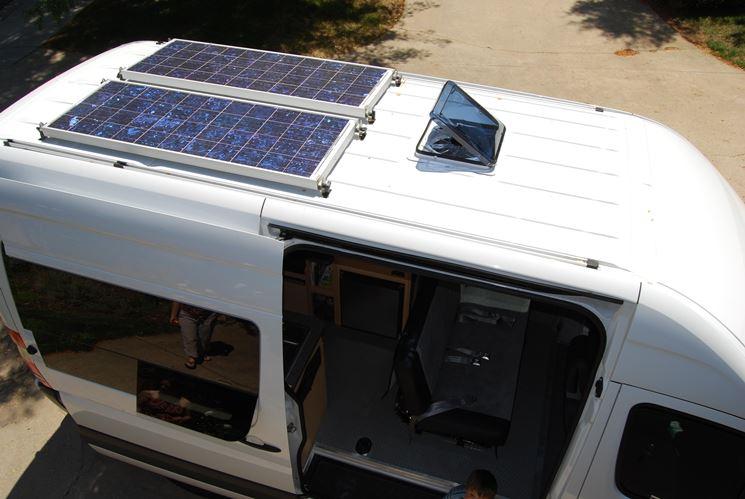 pannello fotovoltaico camper