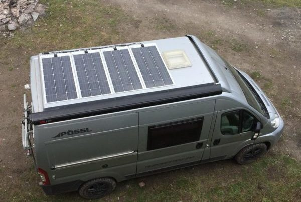 pannelli solari camper