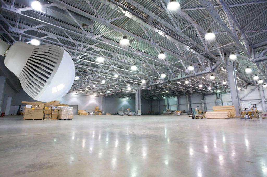 illuminazione led industriale
