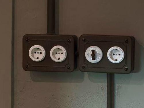impianto elettrico vintage