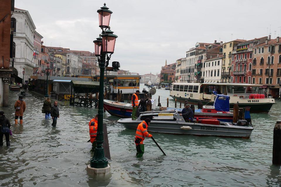 danni acqua alta venezia