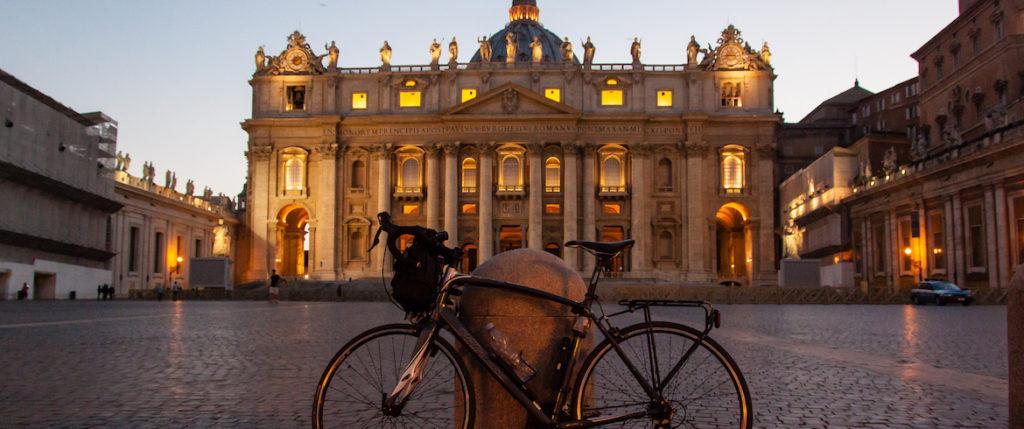giro in bicicletta per roma